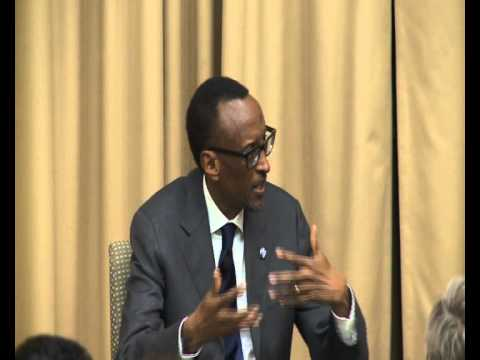 President Kagame addressing students at Tufts University in Boston, 22 April 2014  (Part 1/2)