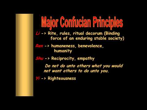 Confucianism Flipped Video Lesson