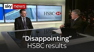 HSBC profits fall short of expectations - SKYNEWS