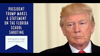 President Trump addresses school shooting - VOAVIDEO