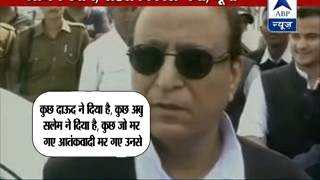 ABP LIVE l Mulayam Singh Yadav's grand birthday celebration l Rides 'buggy' - ABPNEWSTV