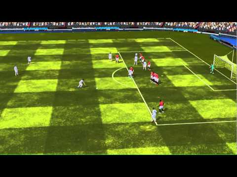 FIFA 14 iPhone/iPad - Nalgones HD vs. Manchester Utd