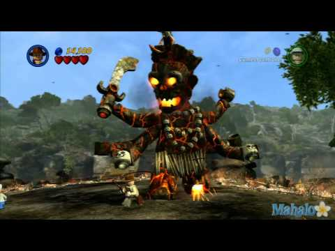 LEGO Indiana Jones 2 Temple of Doom Walkthrough 4 of 4