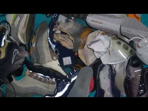 Sneaker wrecking October and November 2013 - messy, wet and destroyed sneakers!