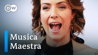 At the Opus Klassik with Alondra de la Parra | Musica Maestra - DEUTSCHEWELLEENGLISH