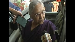 Cong will win all seven seats in Delhi: Sheila Dikshit - ABPNEWSTV
