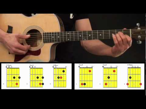 Beginner Acoustic Strumming Guitar Lesson 2 of 3