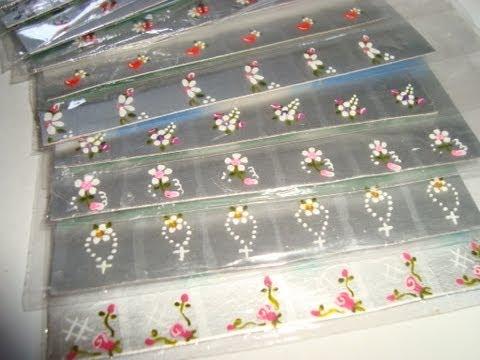 O que usar para fazer adesivos de unhas