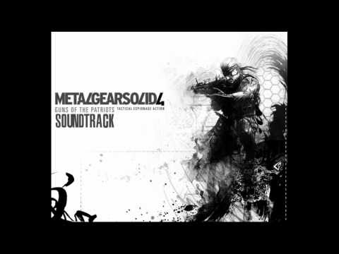 Metal Gear Solid 4 - Soundtrack - Unmanned Army