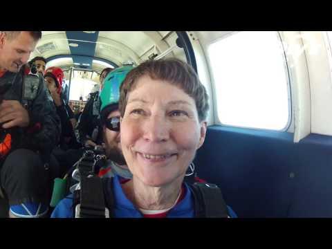 Rebecca Rickey's Tandem skydive!