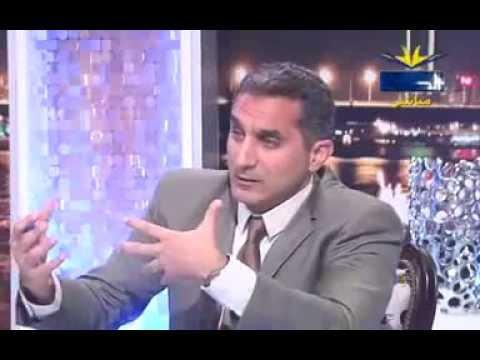 لقاء باسم يوسف على قناة الحافظ السلفية كامل