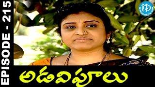 Adavipoolu || Episode 215 || Telugu Daily Serial - IDREAMMOVIES