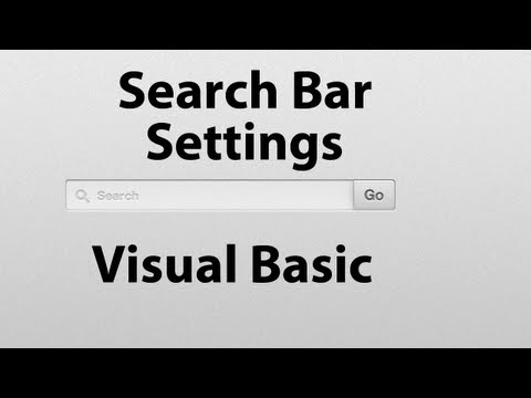 How To Tabbed Web Browser Visual Basic 2008 2010 ( Add Search Bar &amp; Settings) -YOuF6Np9z40