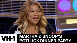 Queen Latifah's Craziest Rumor She's Heard About Herself | Martha & Snoop's Potluck Dinner Party - VH1