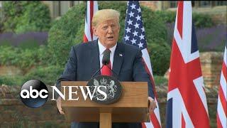 Trump golfs after Russian indictment announcement - ABCNEWS