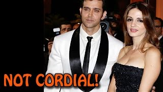 Hrithik Roshan and Suzanne Khan's NON-CORDIAL relationship | Bollywood News