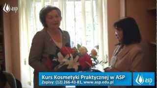 Kurs Kosmetyki Praktycznej w ASP - film pami�tkowy