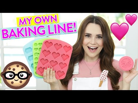 MY FIRST BAKING LINE!!