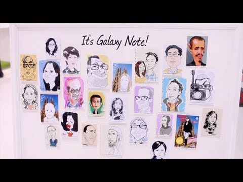 Samsung Galaxy Note 10.1 first look at MWC 2012