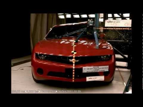 2012 Chevrolet Camaro Coupe NHTSA Side Pole Impact (NHTSA Five Star Car)