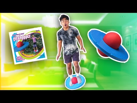 SUPER BOUNCY GIGA HOPPER TOY!