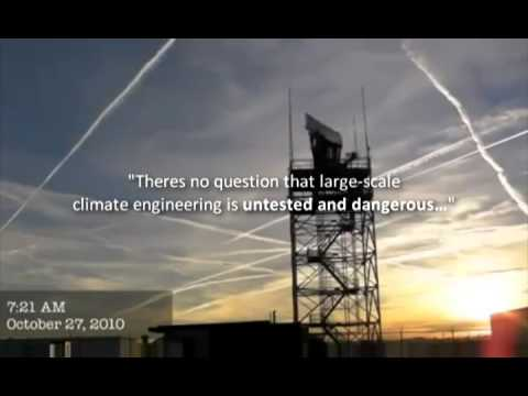 Frankenstorm Sandy: Chemtrails &amp; Geo-Engineering