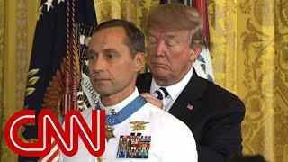 Trump awards Medal of Honor to retired Navy SEAL - CNN