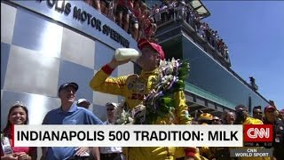 Why do drivers drink milk at Indy 500? - CNN