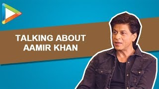 "Shah Rukh Khan: ""I liked Aamir Khan's nose thing that he did for Thugs Of Hindostan"" - HUNGAMA"