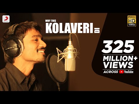 Why This Kolaveri Di   Full Song Promo Video in HD