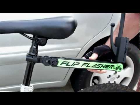 Flip Flasher - FlipFlasher A Patented Bicycle Accident Prevention Device