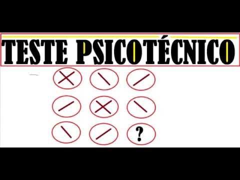 CURSO DE RACIOCÍNIO LÓGICO TESTE DO EXAME PSICOTÉCNICO DO DETRAN