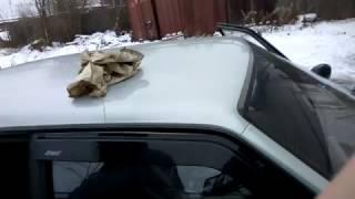 Как установить дефлектор без скотча на авто