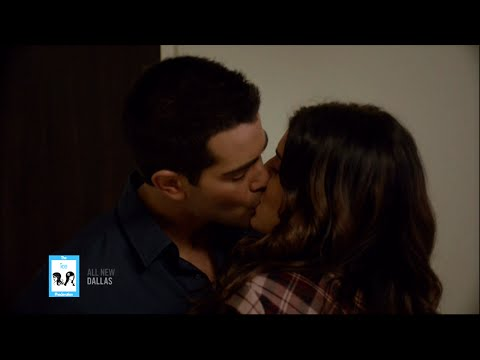 Christopher & Heather Kissing 3x10 on Dallas | 8-25-14