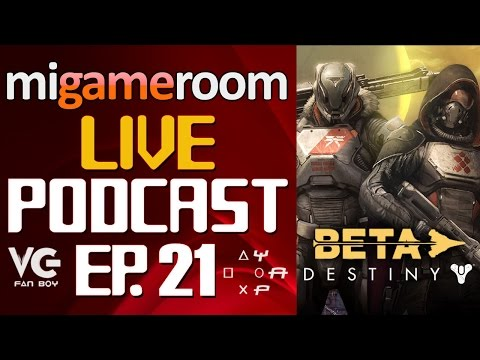 Impresiones del Beta de Destiny - Mi Gameroom Live Podcast. Ep. 21