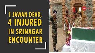5W 1H: 1 jawan dead, four injured in ongoing encounter in Srinagar - ZEENEWS