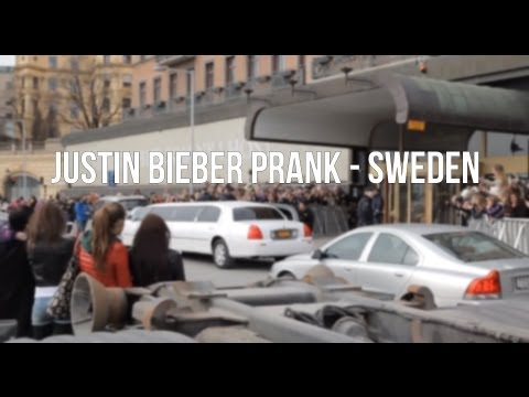 Justin Bieber Grand Hotel prank - Sweden (Original Video)