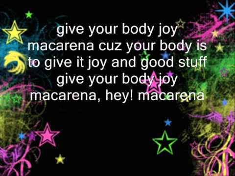 macarena english lyrics