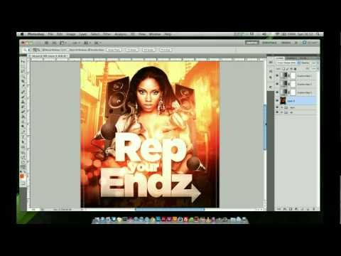 Photoshop Tutorial - Event Flyer Design
