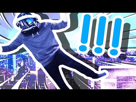 FALLING OFF A BUILDING IN VIRTUAL REALITY!!!