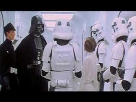 Darth Vader mówiący głosem grającego go Davida Prowse'a