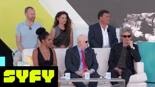 SYFY LIVE FROM COMIC-CON | Doctor Who Cast and Crew on the 13th Doctor | SYFY - SYFY
