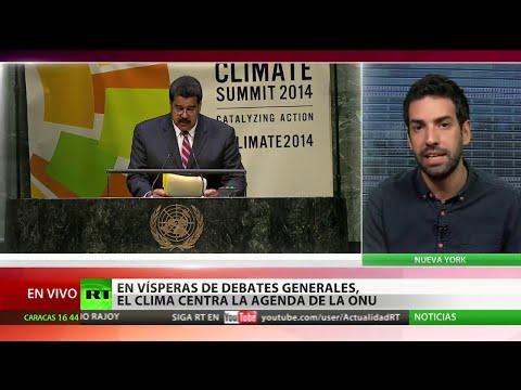 Maduro: Para cambiar el clima hace falta cambiar el sistema económico