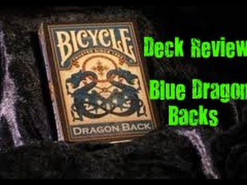 Deck Review - Blue Dragon Back Playing Cards
