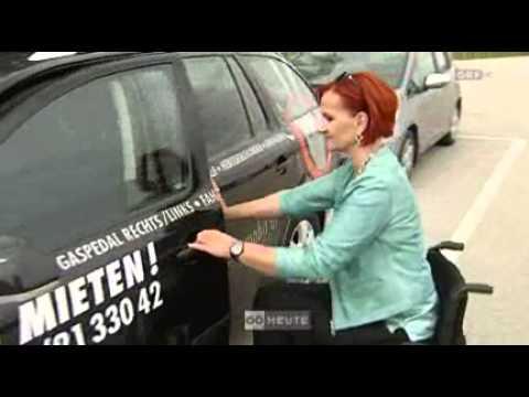 Oberösterreich heute 7.6.2012 LKW-Führerschein trotz Handicap.wmv