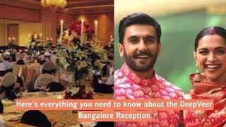 Ranveer Singh & Deepika Padukone Wedding Reception in Bangalore | Inside Details & First Pictures - ZOOMDEKHO