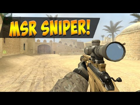 MSR Bolt Action Sniper Rifle - Gameplay Clips and Com!
