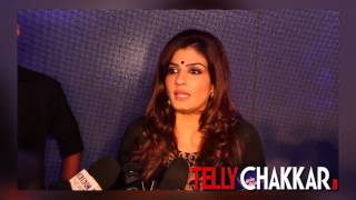 Gorgeous Raveena Tandon talks about her show Simply Baatein - TELLYCHAKKAR