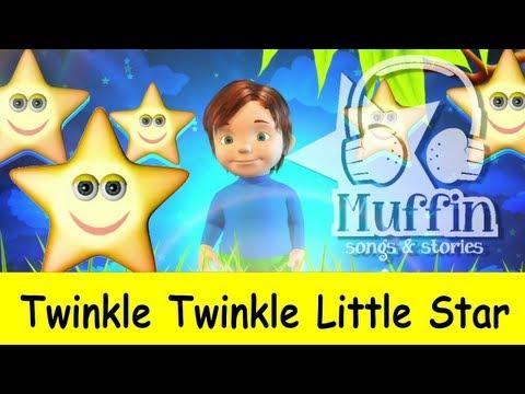 Muffin Songs – Twinkle Twinkle Little Star Tekerlemeler ve İngilizce Çocuk Şarkıları