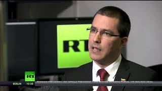 'We demand respect for Venezuela' - FM Jorge Arreaza on Western attacks (Going Underground) - RUSSIATODAY